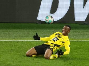 Youssoufa Moukoko à l'Euro U21 avec l'Allemagne. afp