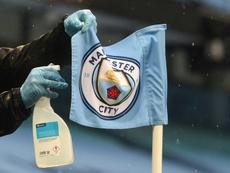 Manchester City attend le verdict du TAS. AFP