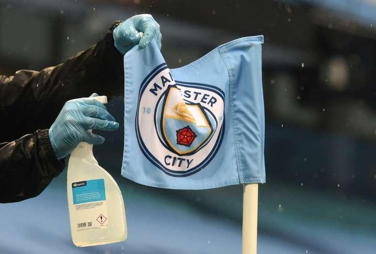 C1: Manchester City respire, le projet émirati aussi. AFP