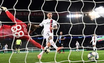 Icardi hizo el único gol del partido. AFP