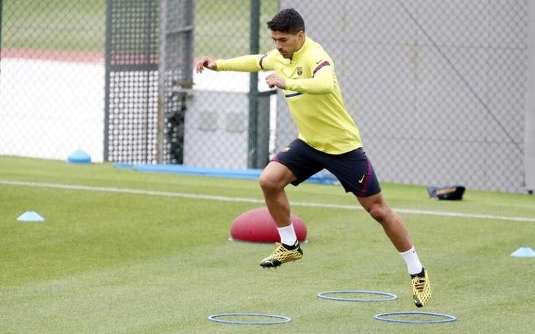 Luis Suárez estará de vuelta. AFP/Archivo