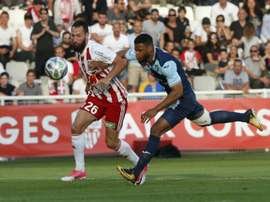 Ajaccio en barrages contre Toulouse. AFP