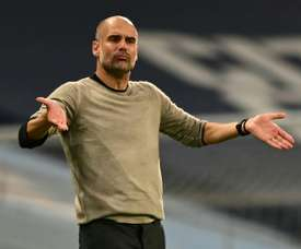 Encore une nouvelle recrue défensive pour Guardiola. AFP