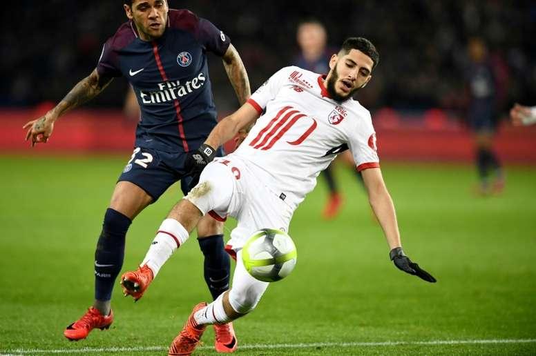 Dijon donne des nouvelles de Benzia. AFP