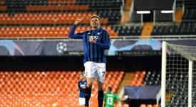Ilicic è il miglior giocatore della settimana. AFP