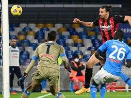 Gattuso reconnait la performance d'Ibrahimovic. AFP