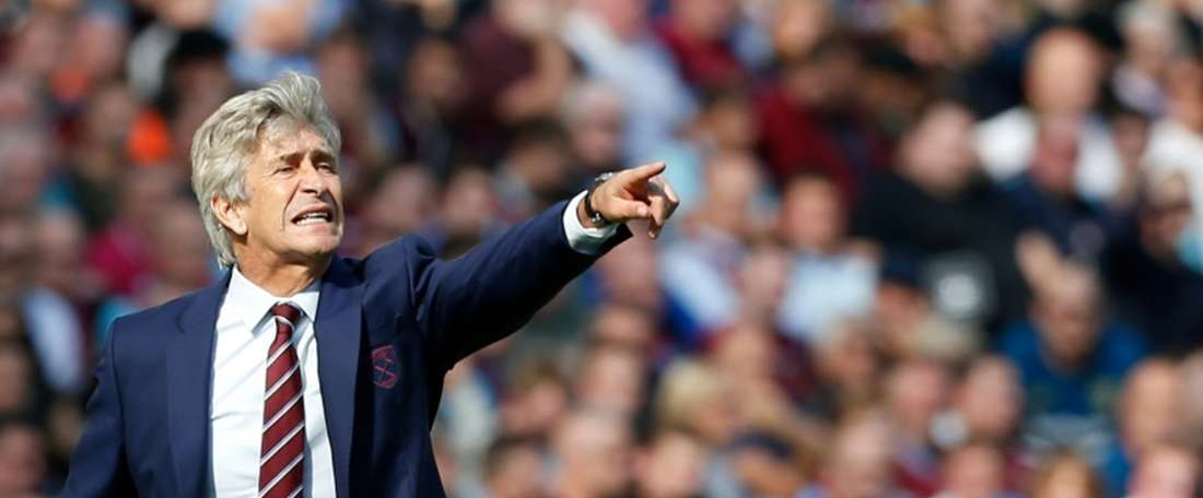 Pellegrini wants improvements from youngsters. AFP