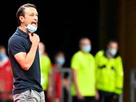 Monaco veut retrouver le haut de la Ligue 1. AFP