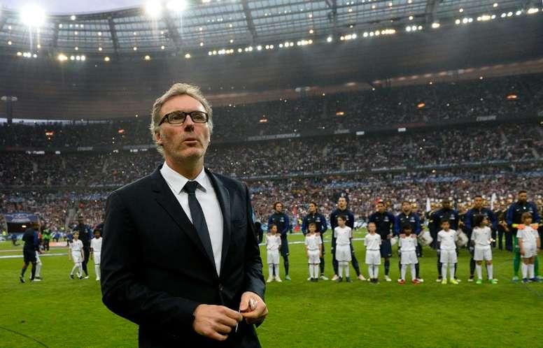 Blanc podría hacerse cargo del Girondins. AFP/Archivo