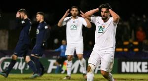Exploit de Belfort (N2) qui bat Montpellier et atteint les quarts. AFP