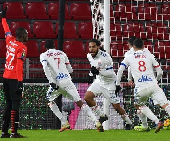 Ligue 1: A l'image de Denayer, Lyon ne veut rien lâcher. AFP