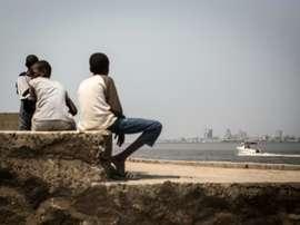 Brazzaville-Kinshasa, un derby, des blessures. AFP