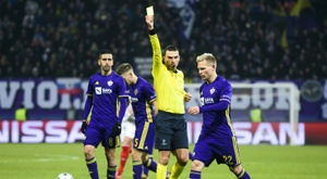 Maribor have been sanctioned for their fans actions. AFP