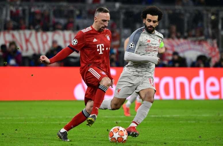 Ribéry pourrait finir sa carrière au Qatar. AFP