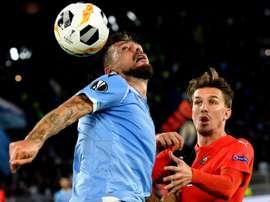 Luiz Felipe quer continuar na Lazio. AFP