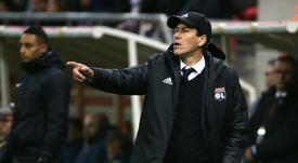Le coach lyonnais a assuré que ses protégés sont parés. AFP