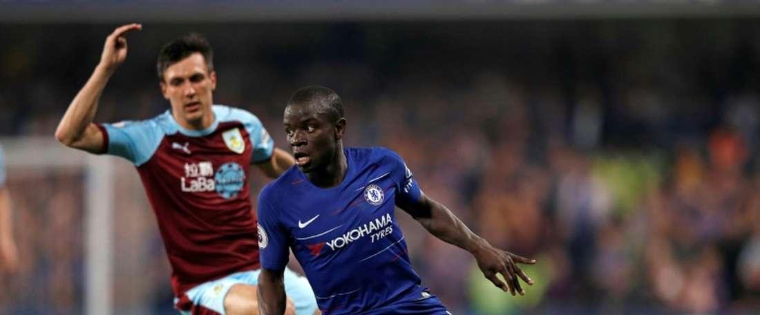 Match nul face à Burnley pour les 'Blues'. AFP