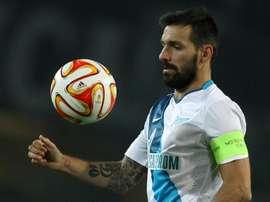 Depois de 10 anos no Zenit, Danny partiu para uma nova aventura. AFP