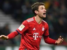 Müller ne s'arrête plus. AFP