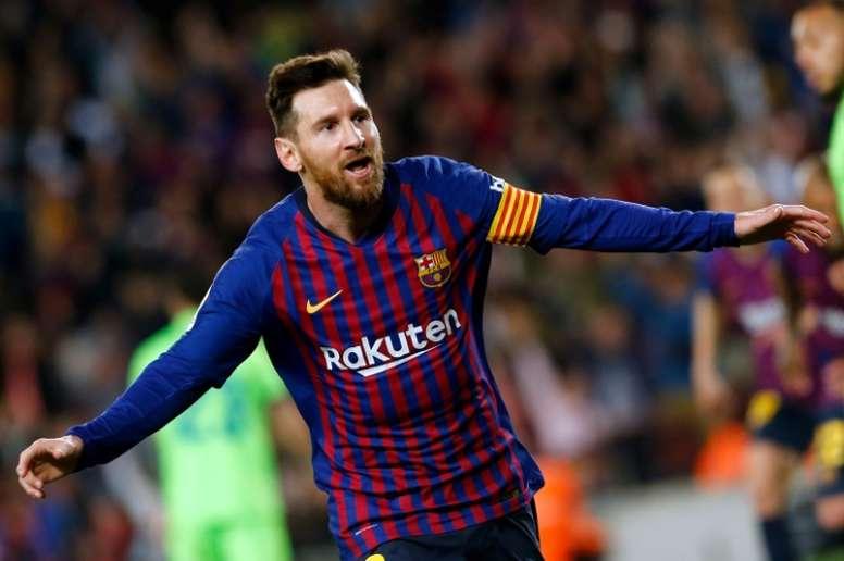 Le Barça post-Messi. AFP
