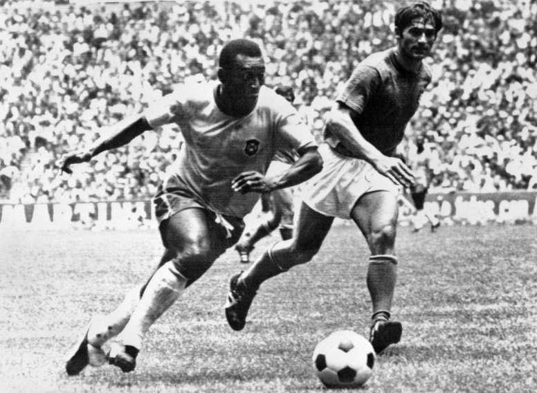 Il y a 50 ans, le Brésil inventait le football moderne en couleur. AFP