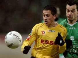 Thomas Régnier, amateur avec Belfort mais pas amer. AFP