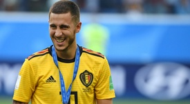 Hazard hinted he may leave Chelsea. AFP