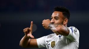 La priorité de l'Inter Milan est bien Tolisso. AFP