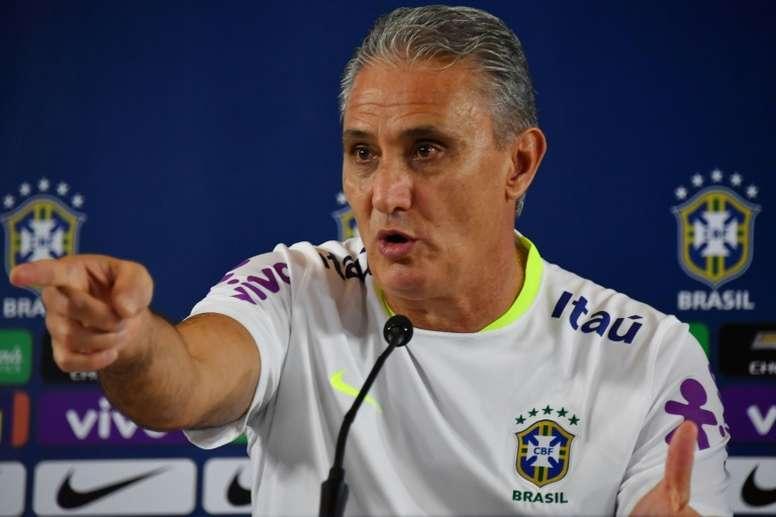 Tite insistió en que no correrán riesgos con Neymar. AFP