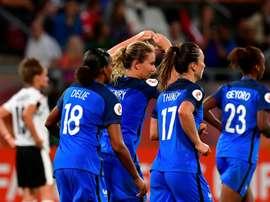 Francia empató contra Austria en la segunda jornada de la Eurocopa Femenina. AFP