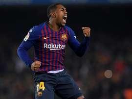Everton want Malcom on loan. AFP