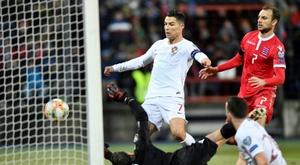 Ronaldo spiega l'arrabbiatura. AFP