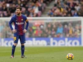 Messi poderia ter sido jogador do Cádiz. AFP
