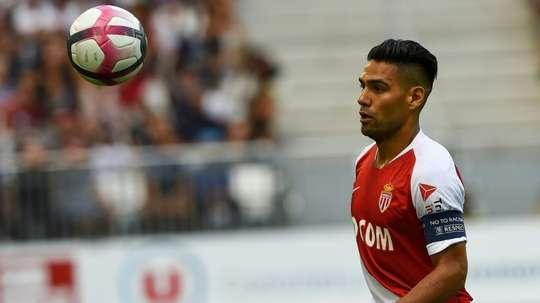 32 year old Falcao has been tipped to move to the MLS in the twilight of his career. AFP