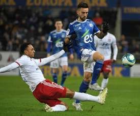 Les compos probables du match de Ligue 1 entre Lyon et Strasbourg. AFP