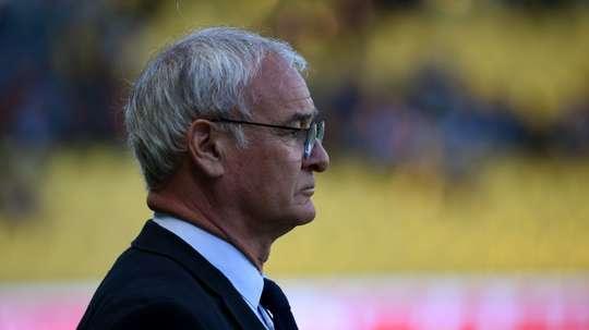 Ranieri ne se prononce pas. AFP
