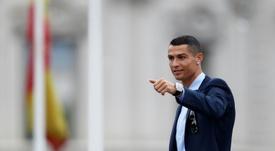 Madrid a arrêté de suivre Cristiano sur les réseaux sociaux. AFP