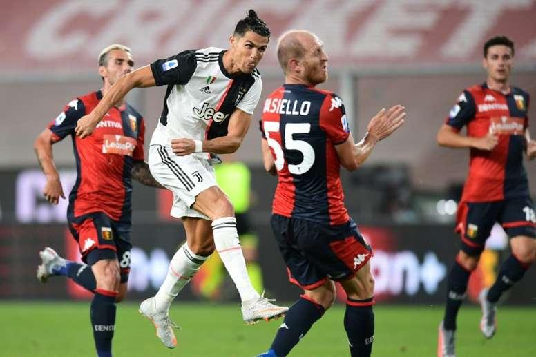 Cristiano parti pour rester à la Juventus. AFP