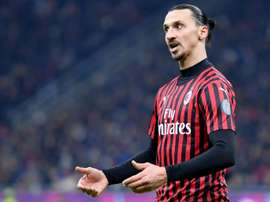La prolongation d'Ibra sur le point de tomber. AFP