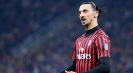 Ibrahimovic pourrait déclencher l'arrivée de Milik à l'Atlético. AFP