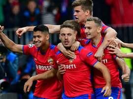 Vittoria del CSKA. AFP