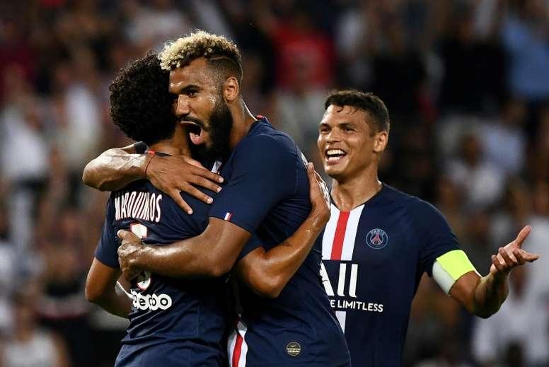 Silva, Choupo-Moting et Rico joueront la Champions League. AFP