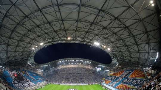 Marseille have been handed a suspended European ban. AFP