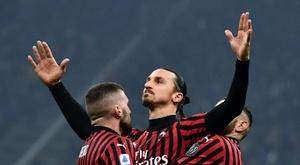 Zlatan Ibrahimovic é o maior sonho da diretoria do Monza. AFP
