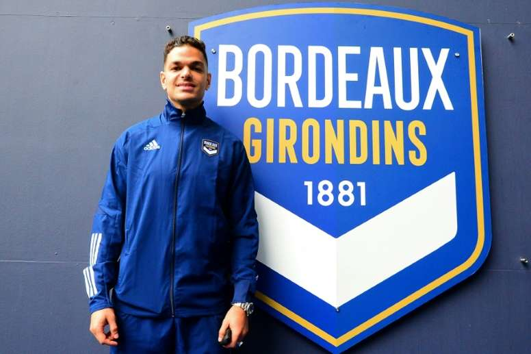 Ben Arfa is back in France. AFP