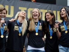 Pourquoi les Etats-Unis dominent-ils le football féminin ? AFP