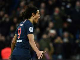 Final attempt for Cavani. AFP