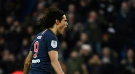 Edinson Cavani is a target for Atletico Madrid. AFP
