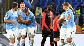 La UEFA expedienta a la Lazio por incidentes racistas. AFP