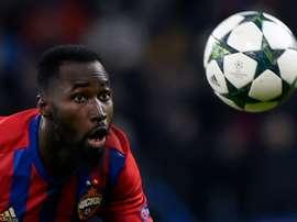 Traoré entró al final, pero no tuvo impacto en el partido. AFP